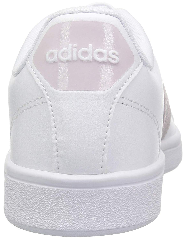 Adidas Womens cf advantage w Low Top Lace Up Fashion Sneakers 727bcb08ed