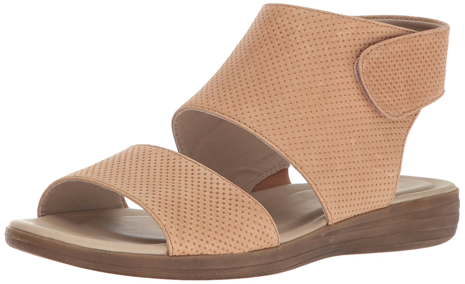 Naturalizer Womens Fae Leather Open Toe Casual Slingback Gingersnap Size 60