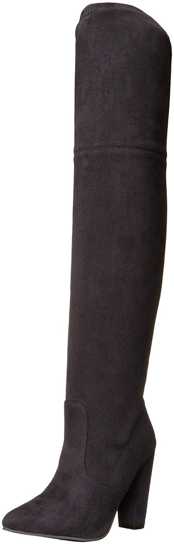Steve Madden Damenschuhe Rocking Fabric Pointed Toe Knee High Fashion Stiefel
