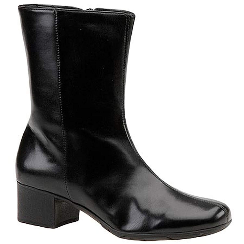 Walking Cradles femme MERLIN en cuir bout fermé à la mode, Noir, Taille 8.5