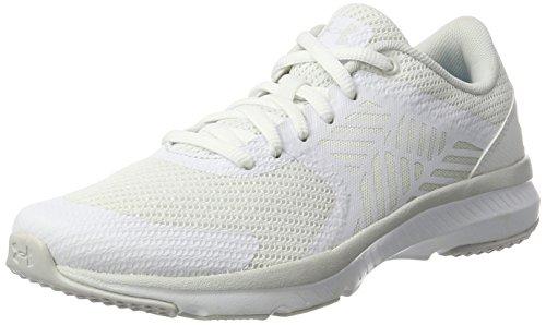 Under Armour micro g press Womens Athletic Shoes White (101) Glacier ... 87d80ec7c