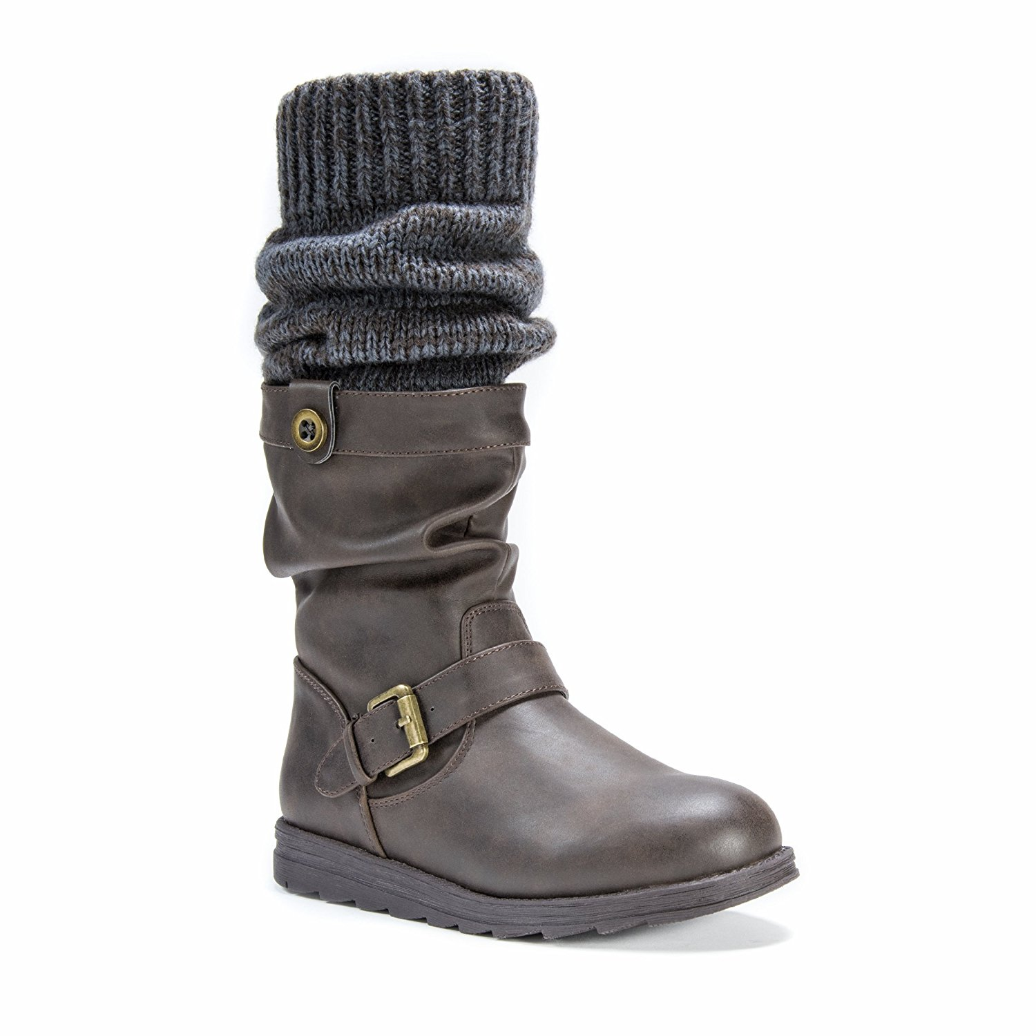 MUK LUKS Women's Sky Fashion Boot Coffee Size 7.0