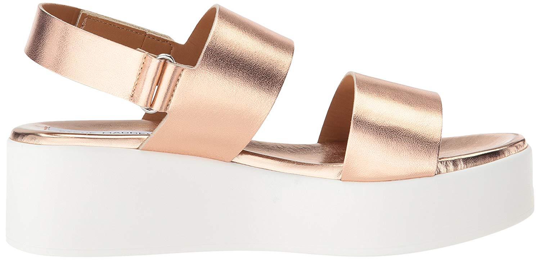 new cheap coupon codes wide varieties Steve Madden Women's Rachel Wedge Sandal, Rose Gold, Size 10.0 ...