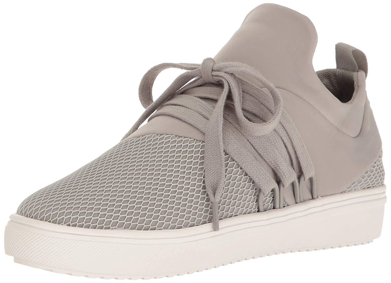 20cfa90e9af9d Steve Madden Women's Lancer Fashion Sneaker, Grey, Size 10.0 US / 8 ...