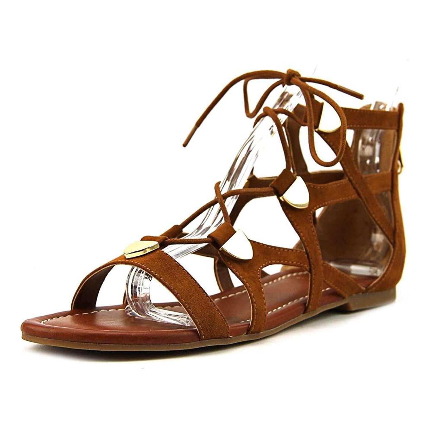 4affdb0fcf2d Details about G by GUESS Womens Lewy Fabric Open Toe Casual Gladiator  Sandals