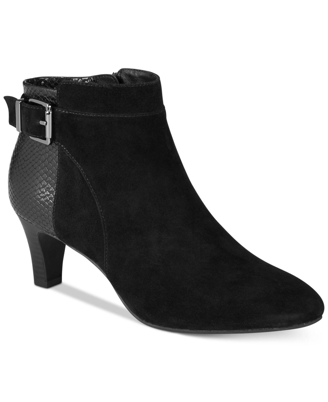 Alfani Damenschuhe Viollet Leder Closed Toe  Ankle Fashion Stiefel  Toe    53fcd6
