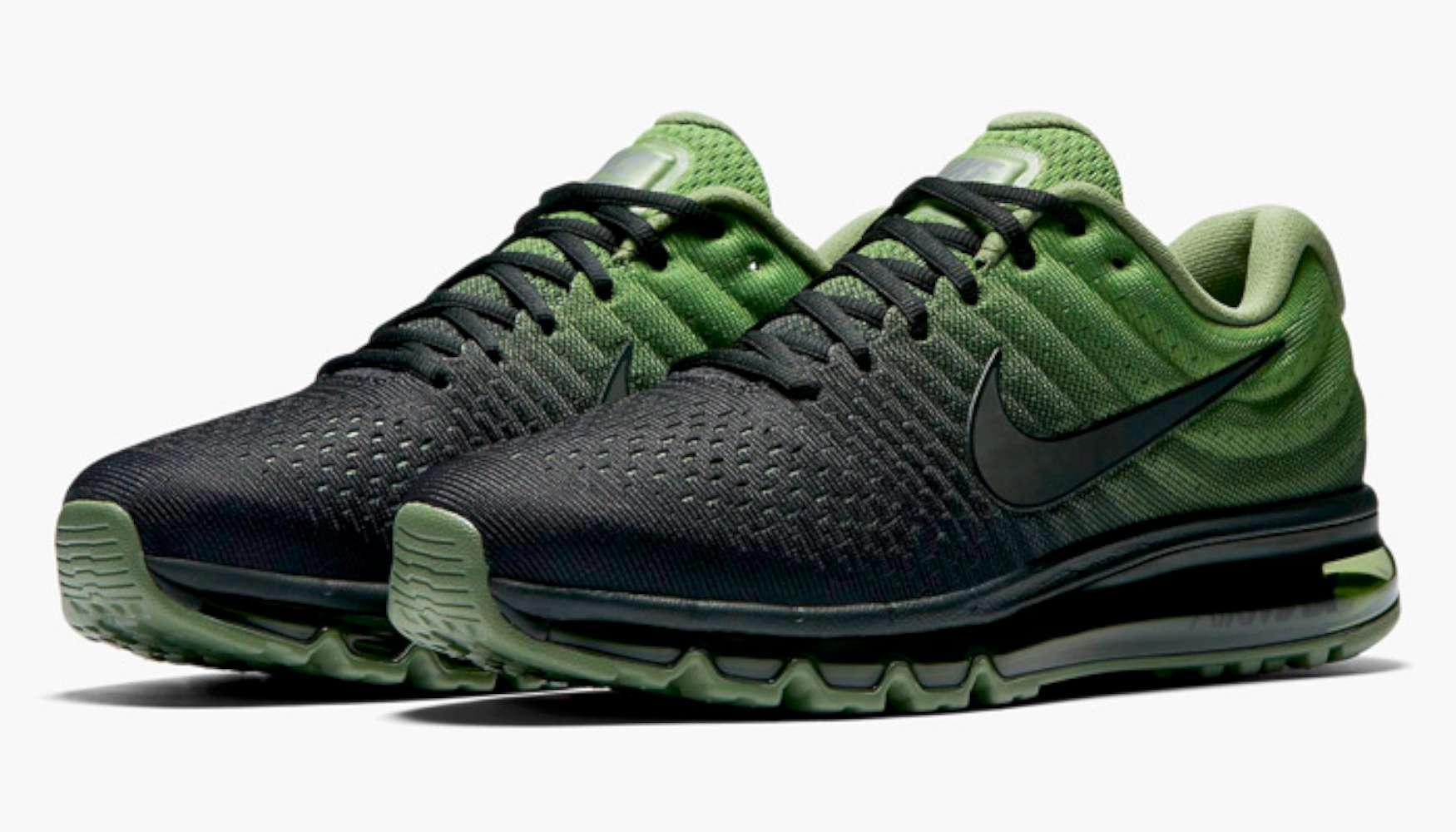 Mens 2017 Lace Low Palm Running Blackblack Nike Air Top Max Up dqnPTxtwH6