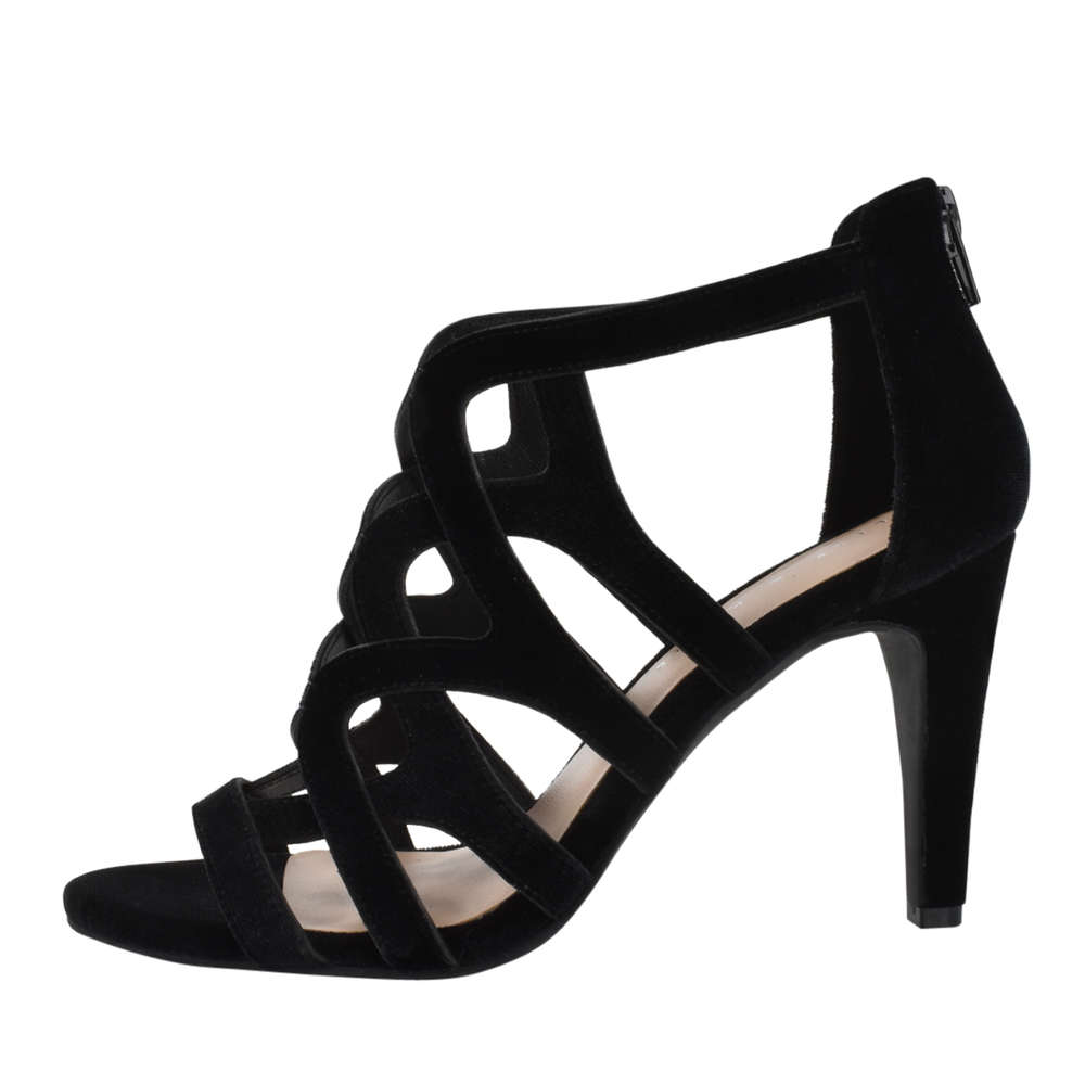 Kelly Katie Womens Ocilia Open Toe Special Occasion Strappy Black Size 95 i