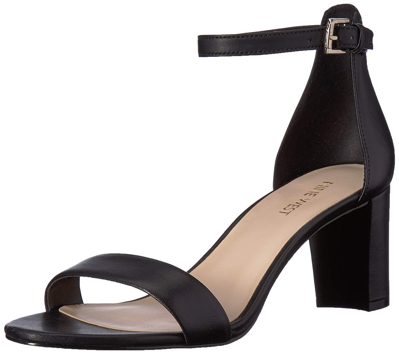 Clothing, Shoes & Accessories Heels Nine West Women's Size 7.5 Peep Toe Platform Pump High Heels Buckle Ankle Strap