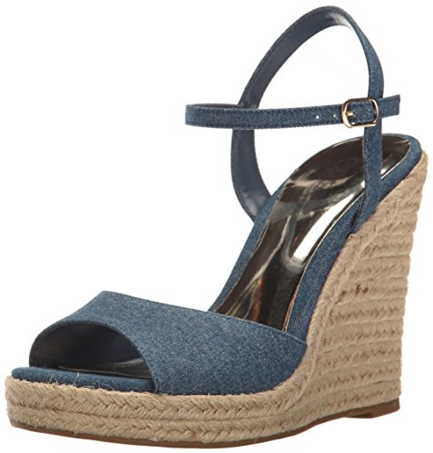 Carlos by by by Carlos Santana donna Lillith Canvas Open Toe Casual Platform Sandals 014b03