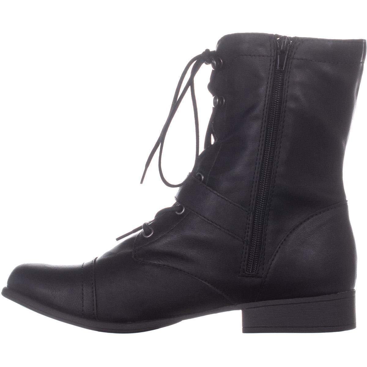 51243c6d8391b American Rag Womens Afarahh Round Toe Ankle Combat Boots | eBay