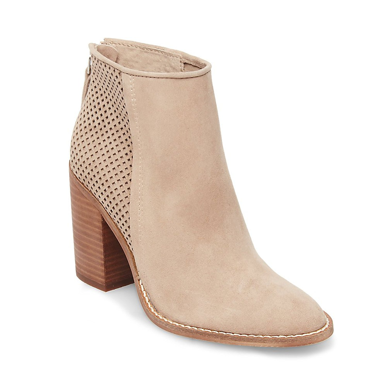 21f40799bf0 Steve Madden Womens Replay Leather Almond Toe Ankle Fashion