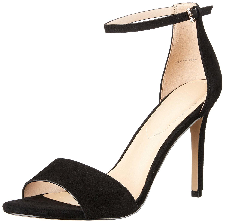 d5b408fef751 Aldo Fiolla Womens Heeled Sandals Black Suede 8.5 US   6.5 UK ...