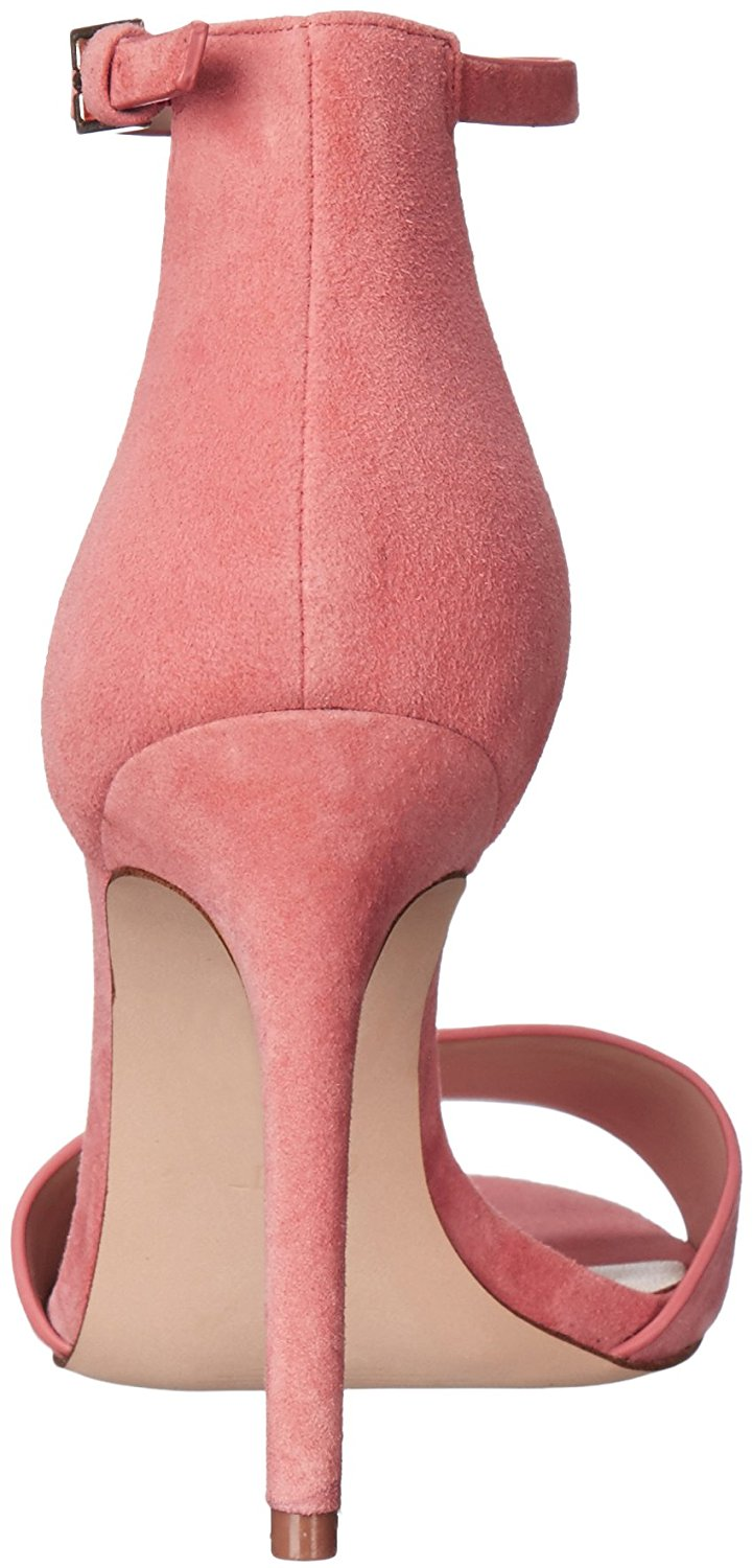 Aldo Womens Fiolla Open Toe Casual Ankle Strap Pink Miscellaneous Size 9.0 yd3