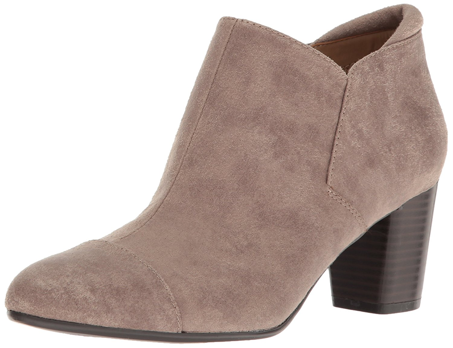 Naturalizer Womens Neebo Closed Toe Ankle Fashion Boots Doe Fabric Size 6.0 R3