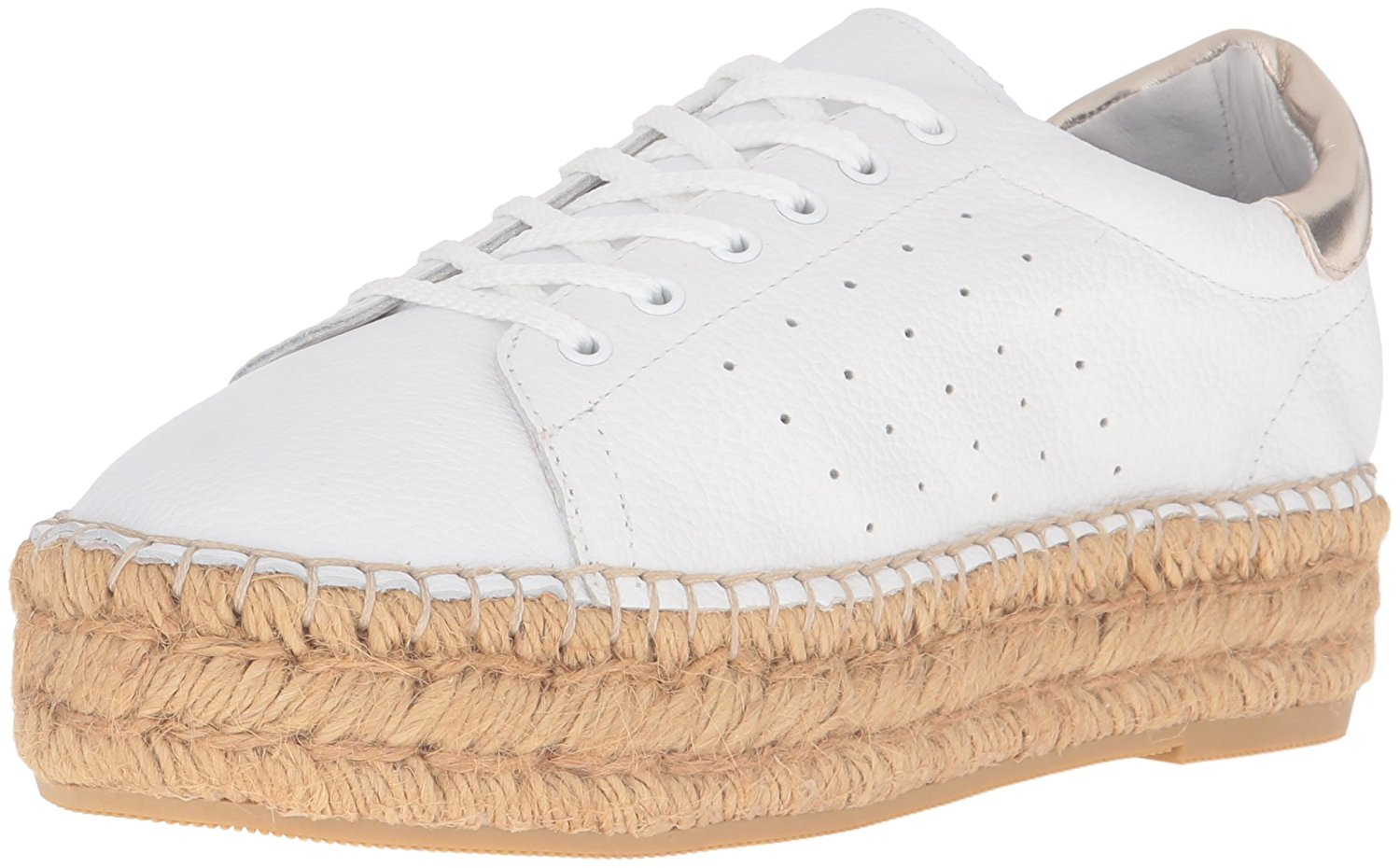 3b8f395a6ae Steven by Steve Madden Pace Womens Fashion Sneakers White 9.5 US ...