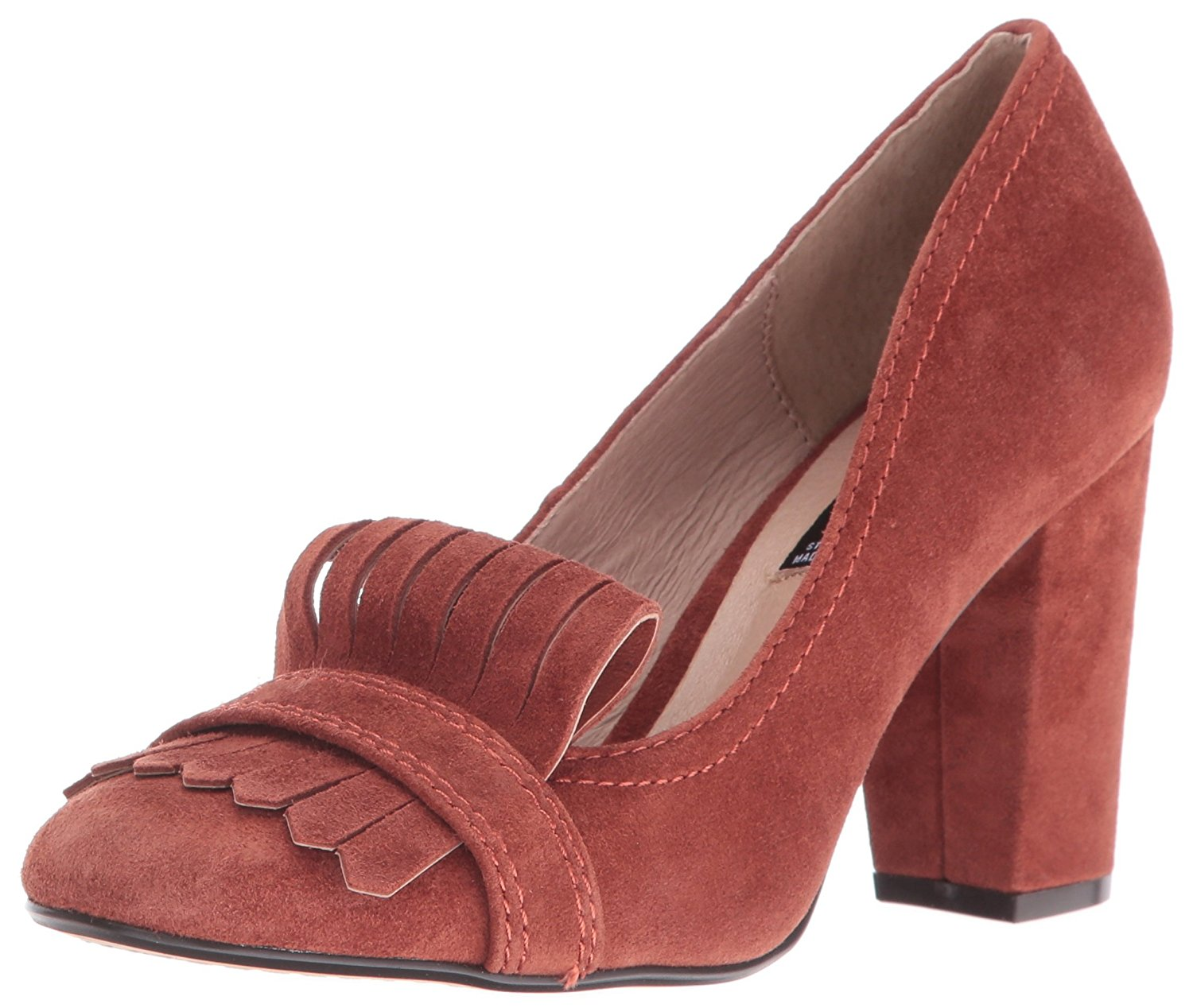82f8b4c9161 STEVEN by Steve Madden Womens Jade Leather Round Toe Classic Pumps ...