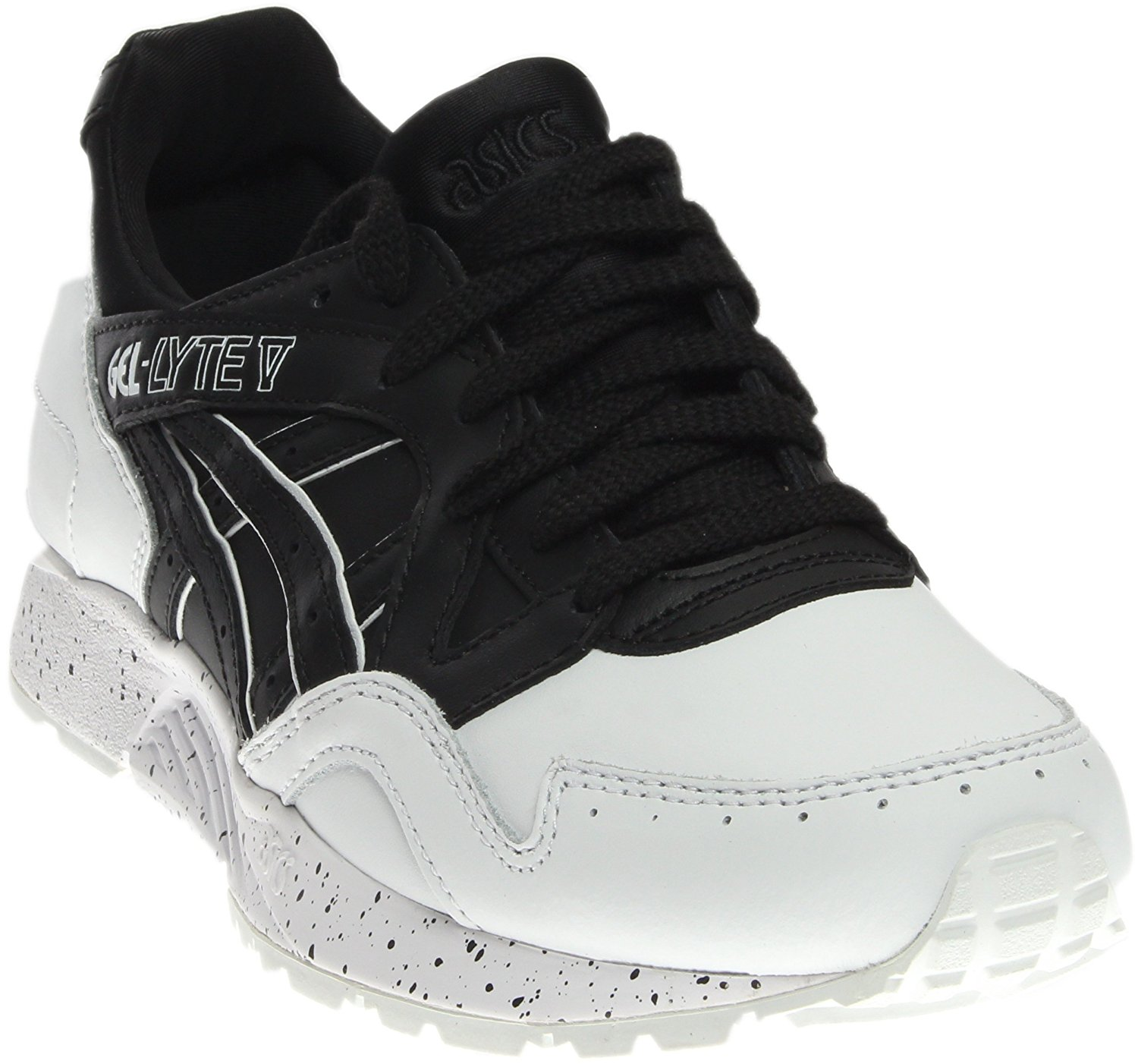ASICS Womens Gel Lyte V Leather Low Top Lace Up Running Sneaker