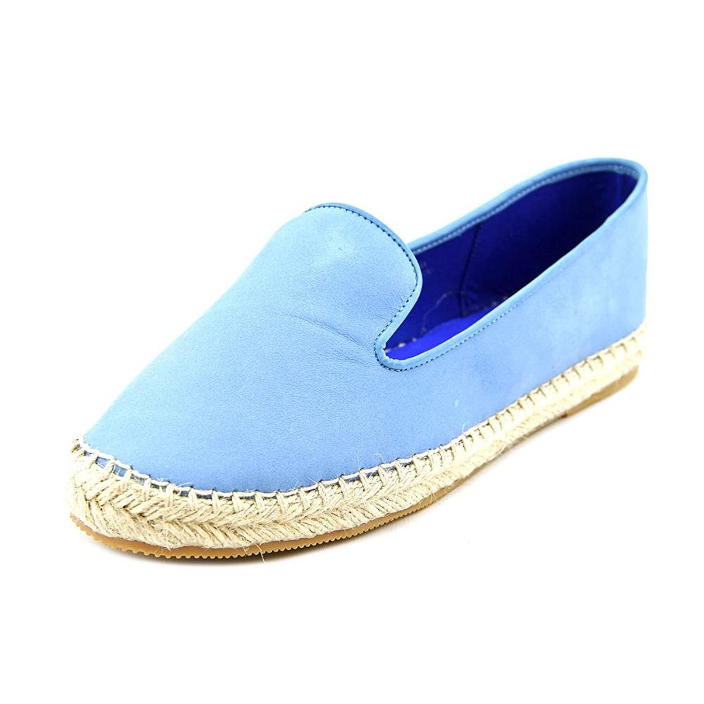 Jeffrey Campbell Abides Espadrille Flats Denim Nubuck Womens Blue Size 75