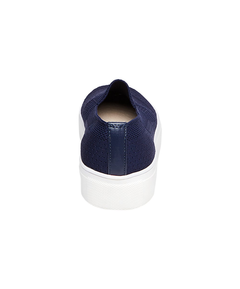 2f4683663f7 Details about Steven by Steve Madden Womens Kai Low Top Slip On Fashion,  Navy, Size 8.5 OKnH
