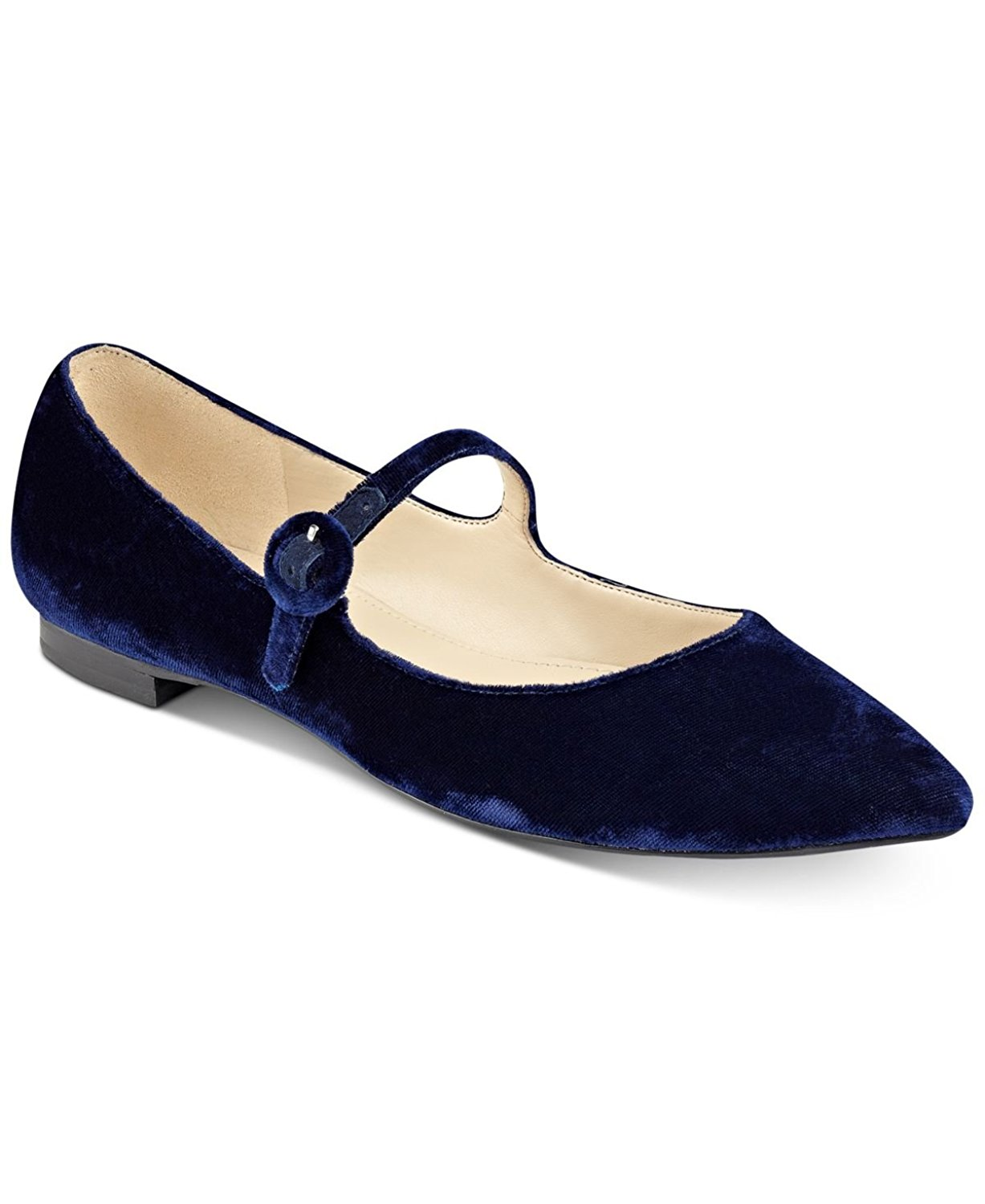 Navy Mary Jane Womens Shoes