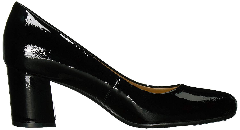 Naturalizer-Femme-Whitney-cuir-bout-ferme-Classic-Pumps-Noir-Taille-9-0-US miniature 10