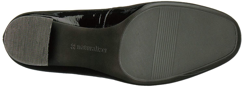 Naturalizer-Femme-Whitney-cuir-bout-ferme-Classic-Pumps-Noir-Taille-9-0-US miniature 8