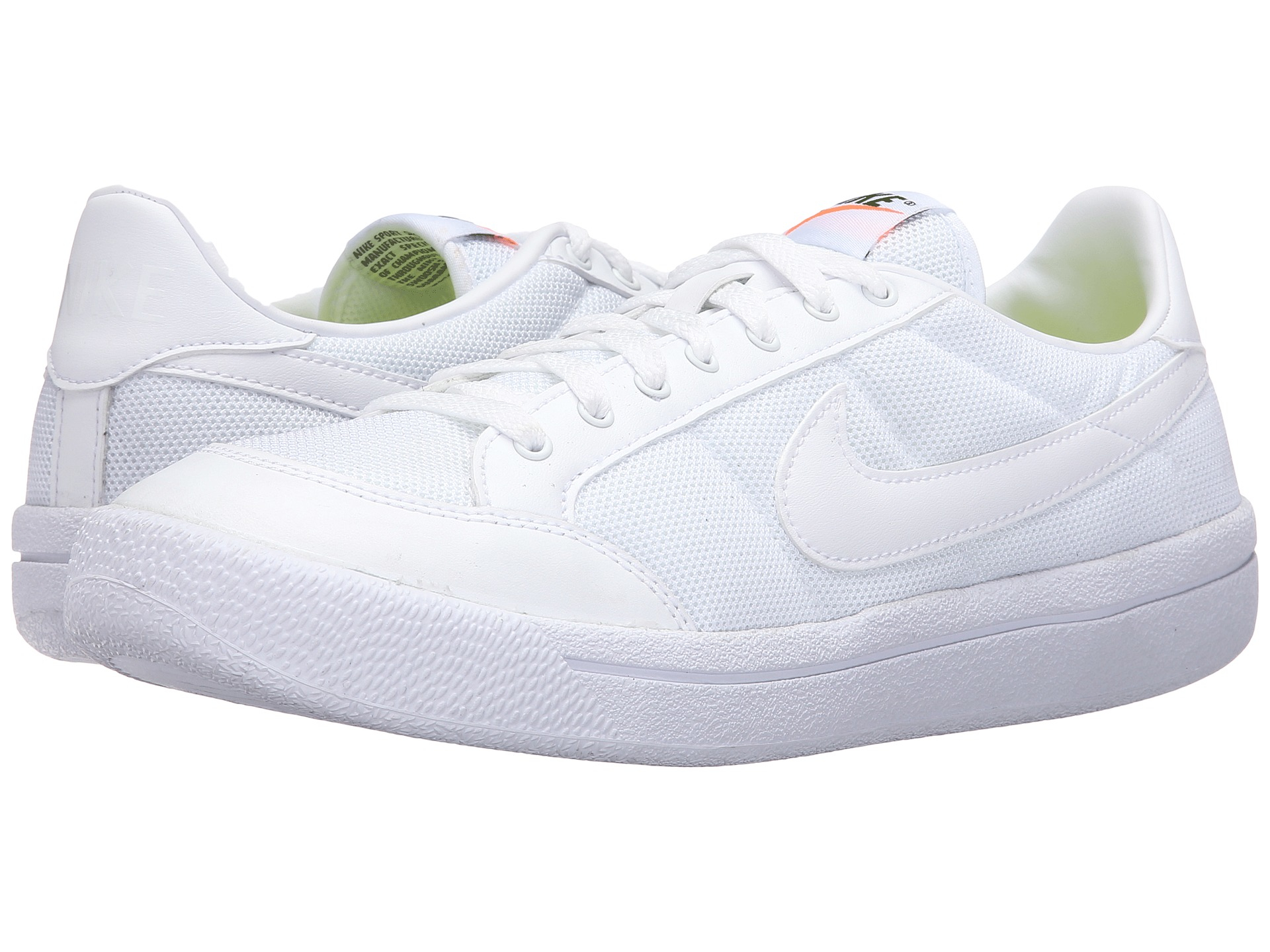 7f29a3b8ef8c Nike Mens Meadow 16 LTR Leather Low Top Lace Up Running Sneaker