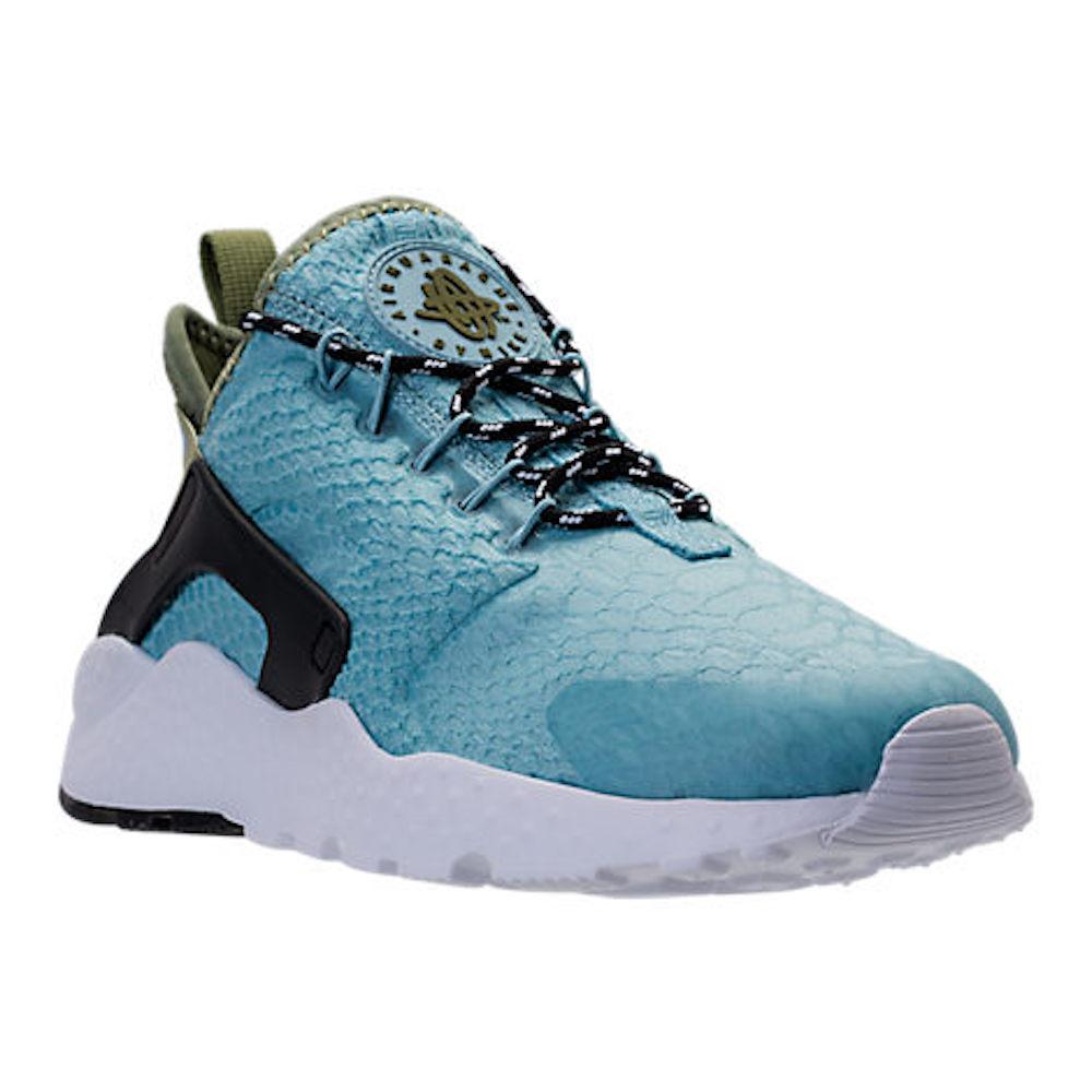 half off dc33e 974bd Details about Nike Womens Air Huarache Run Ultra BR Running Shoes, Blue,  Size 7.0