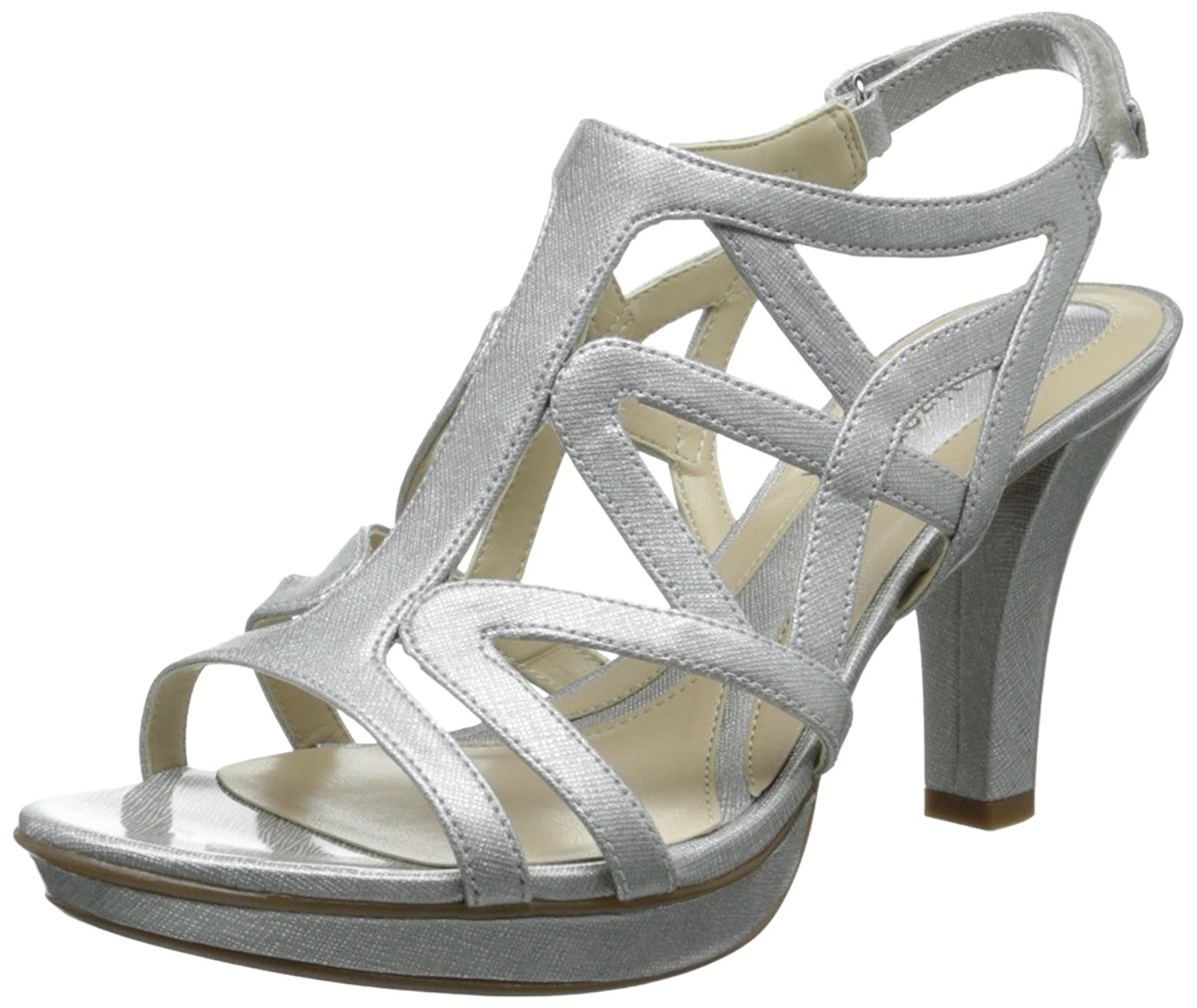 c4d127338f4d Naturalizer Womens DANYA Open Toe Special Occasion Ankle Strap ...