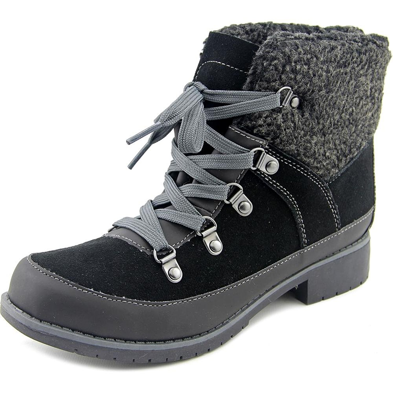 Sporto Debbie Women Round Toe Synthetic Black Ankle Boot Black Size 85