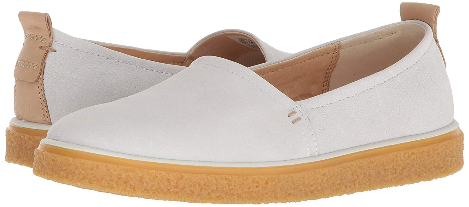 980eb69bfc69 ECCO Womens CrepeTray Leather Round Toe Loafers
