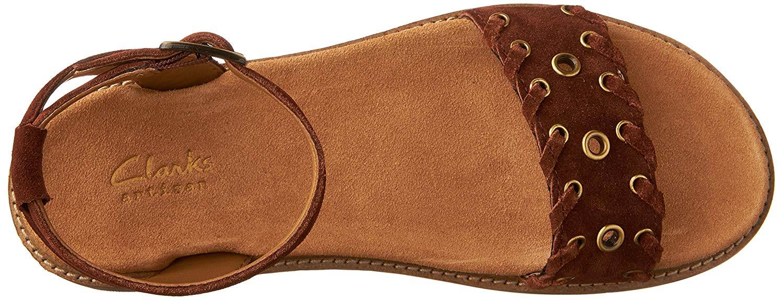 d74c59ee822 CLARKS Women s Corsio Amelia Ankle Strap Sandal