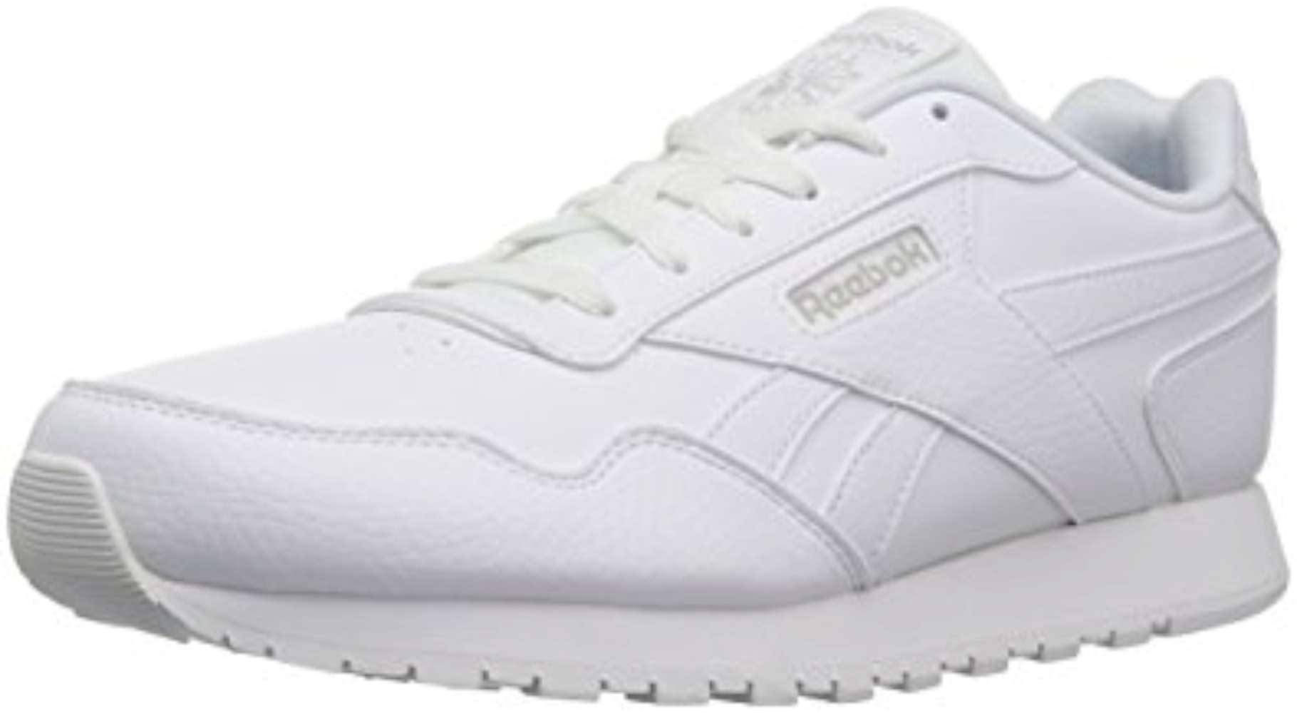 60f9af411 Reebok Womens Classic Harman Low Top Lace Up Running Sneaker, White, Size  9.0 q5