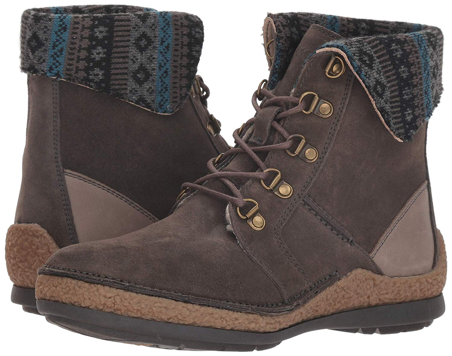 a789f2e3fdc Details about Propét Womens Dayna Leather Closed Toe Mid-Calf Cold Weather  Boots