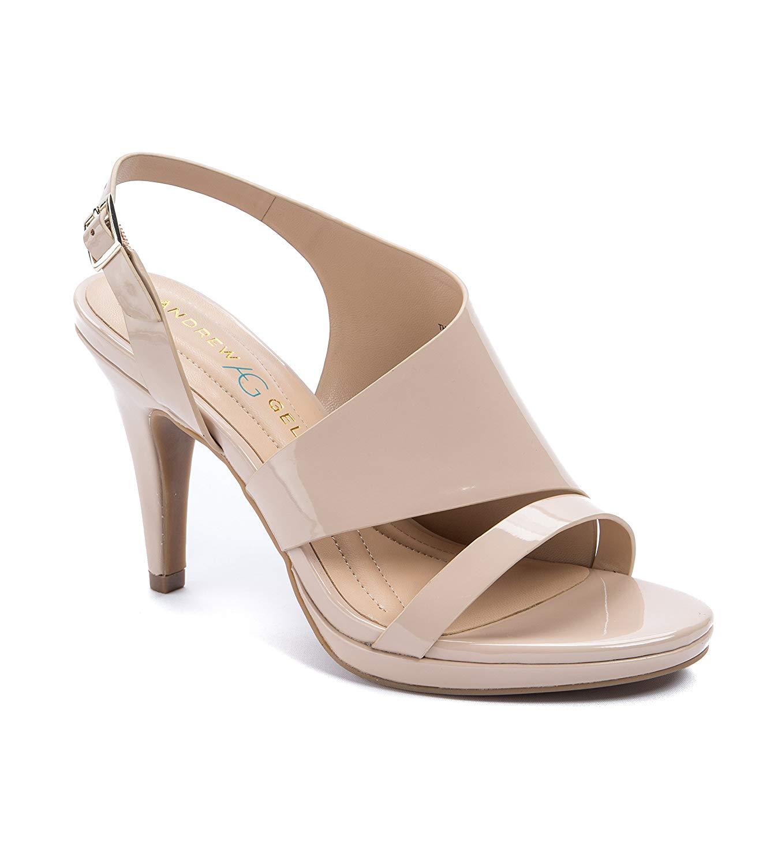 d0fd854afc Andrew Geller Theola Women's Heels, Natural, Size 9.0 825443939850 ...