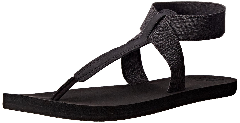 ea785800861e Details about Reef Womens Cushion Moon Split Toe Casual Sport Sandals