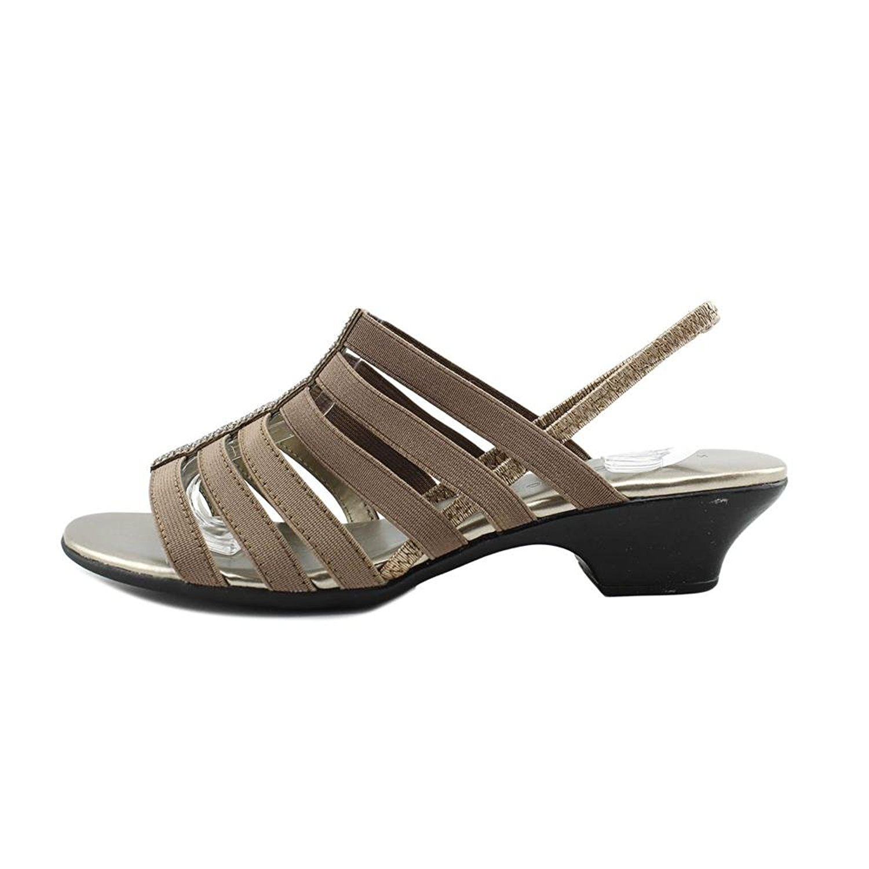 Karen Scott Womens Estevee Open Toe Casual Strappy Sandals