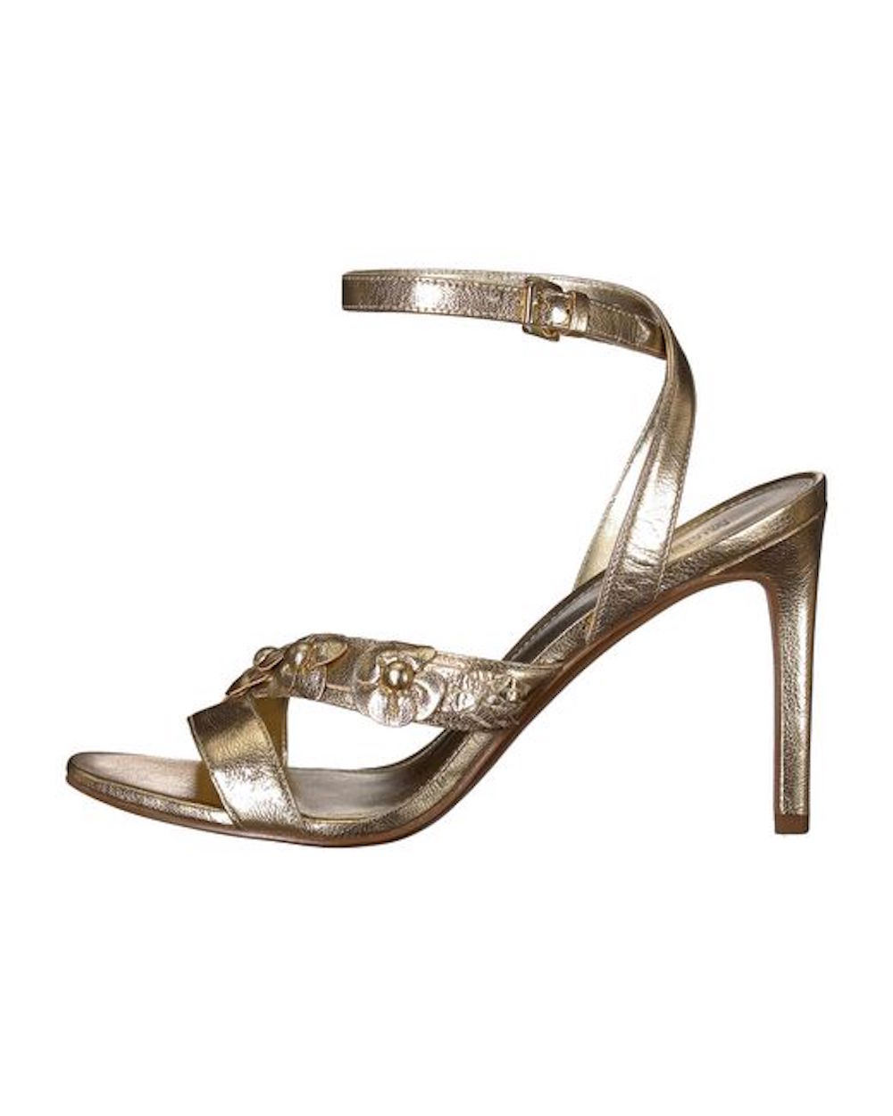 018494161a9 Michael Michael Kors Womens Tricia Leather Open Toe Special