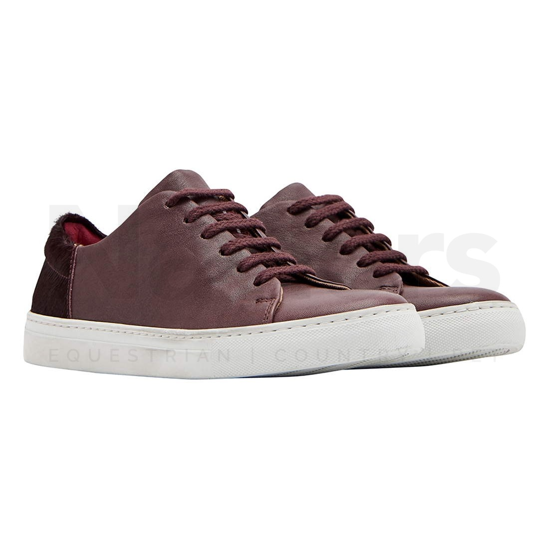 Joules mujer mujer mujer Solena Leather Low Top Lace Up Fashion zapatillas  Ahorre hasta un 70% de descuento.
