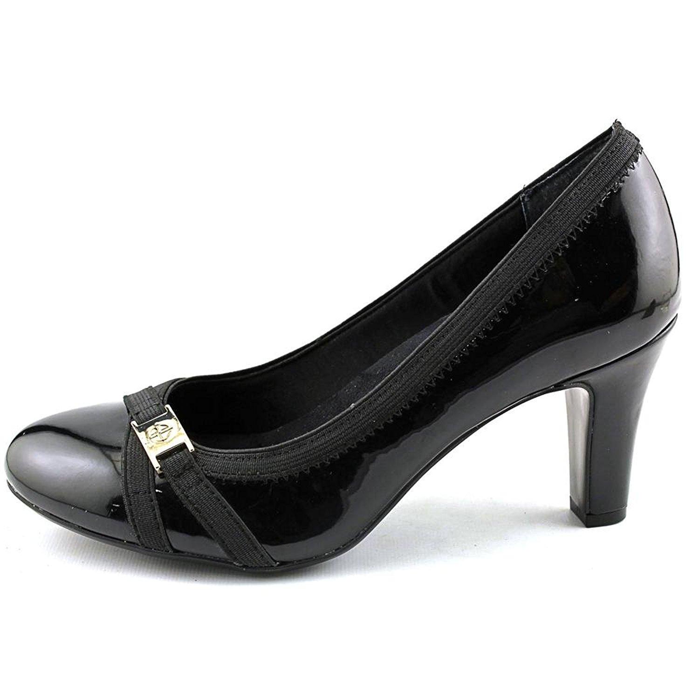 Giani Bernini Womens Vollett Leather Closed Toe Classic Pumps Black Size 6.5 A