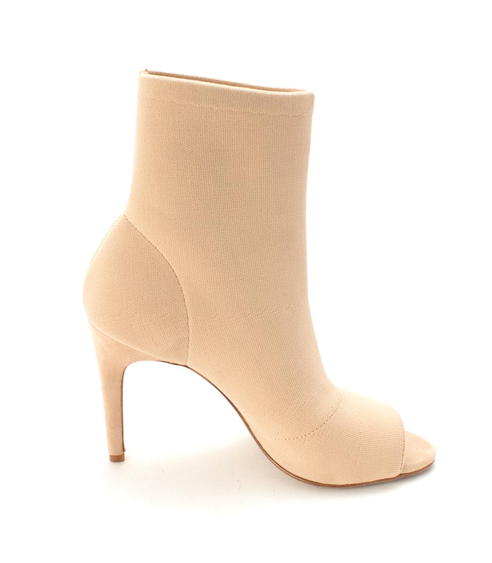 Frauen Offener Zeh Fashion Stiefel Stiefel Stiefel e656a0