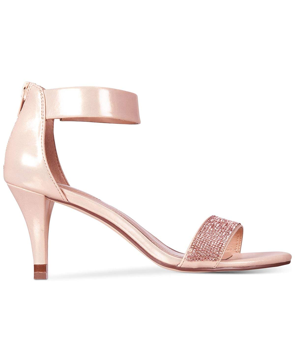 Style & Co. Phillys Damenschuhe Heeled Sandales Rose Rose Sandales Gold 6 US   4 UK XOl9 ... c55f4b