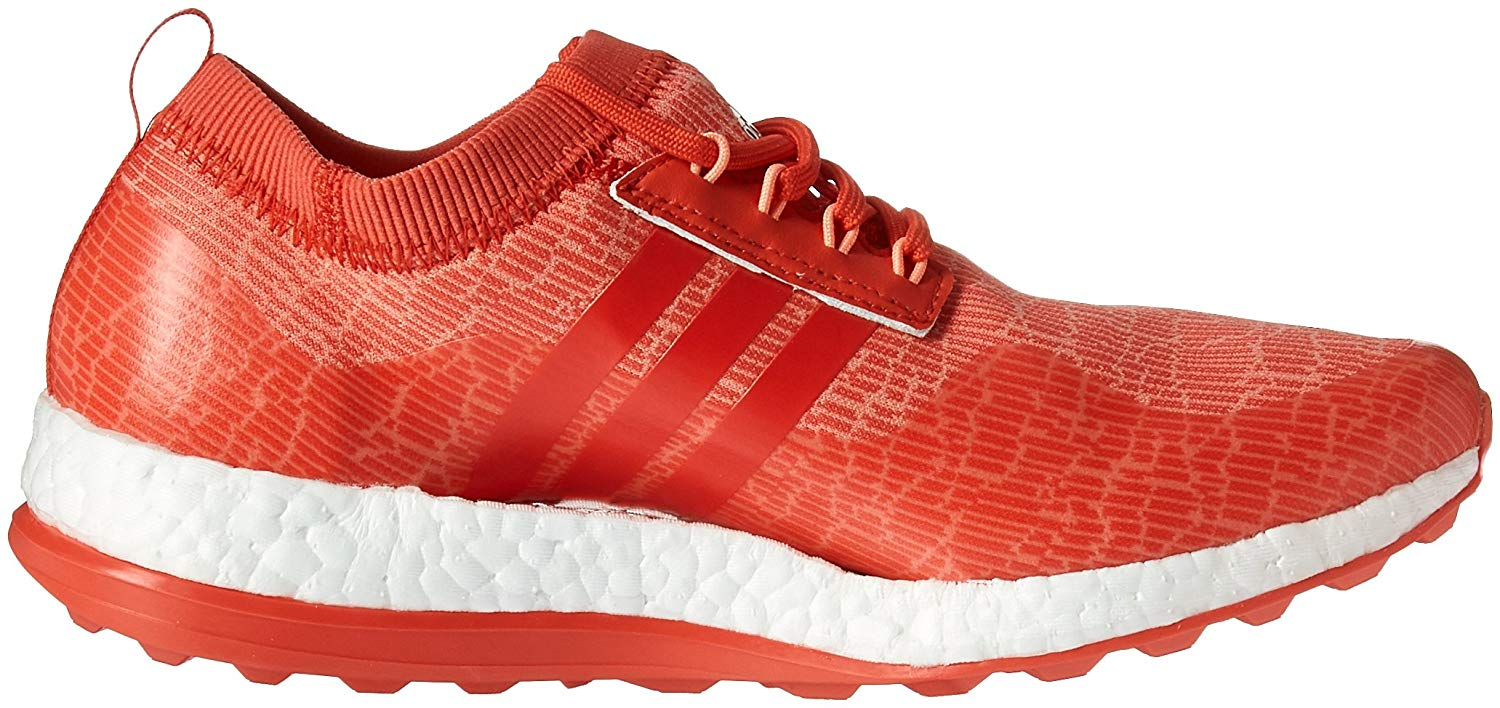 Adidas Damenschuhe Pure boost XG Niedrig Top Lace Up Up Up Golf Schuhes, Orange, Größe e8919b