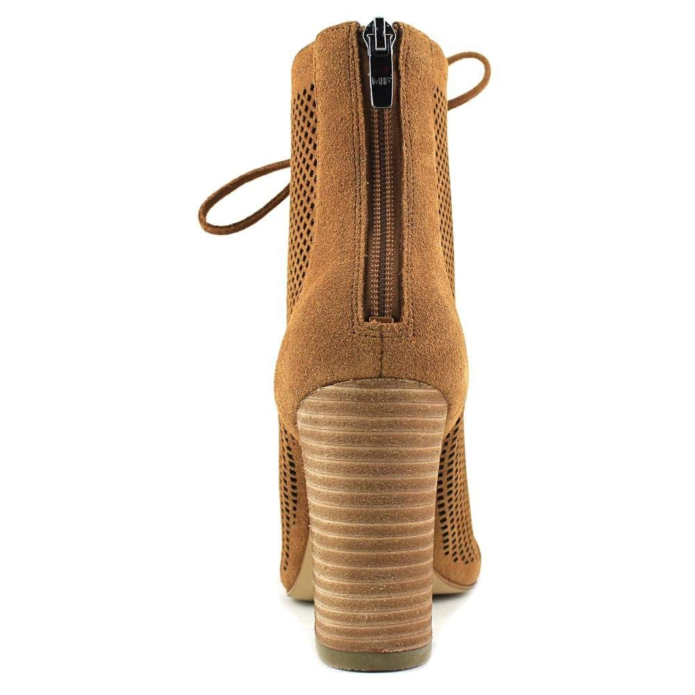 Marc Fisher de de Fisher cuero para mujer moda puntera abierta al tobillo shaini botas dcbf42