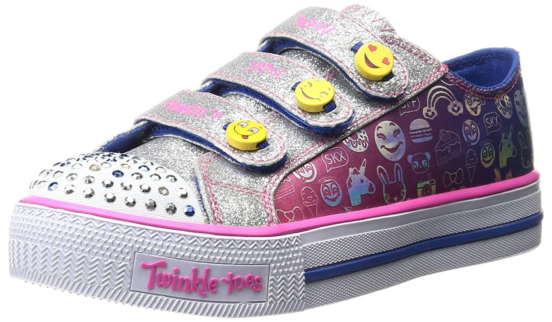 Skechers Skechers Twinkle Toes: Chit Chat Prolifics Light Up Sneaker from Amazon   People