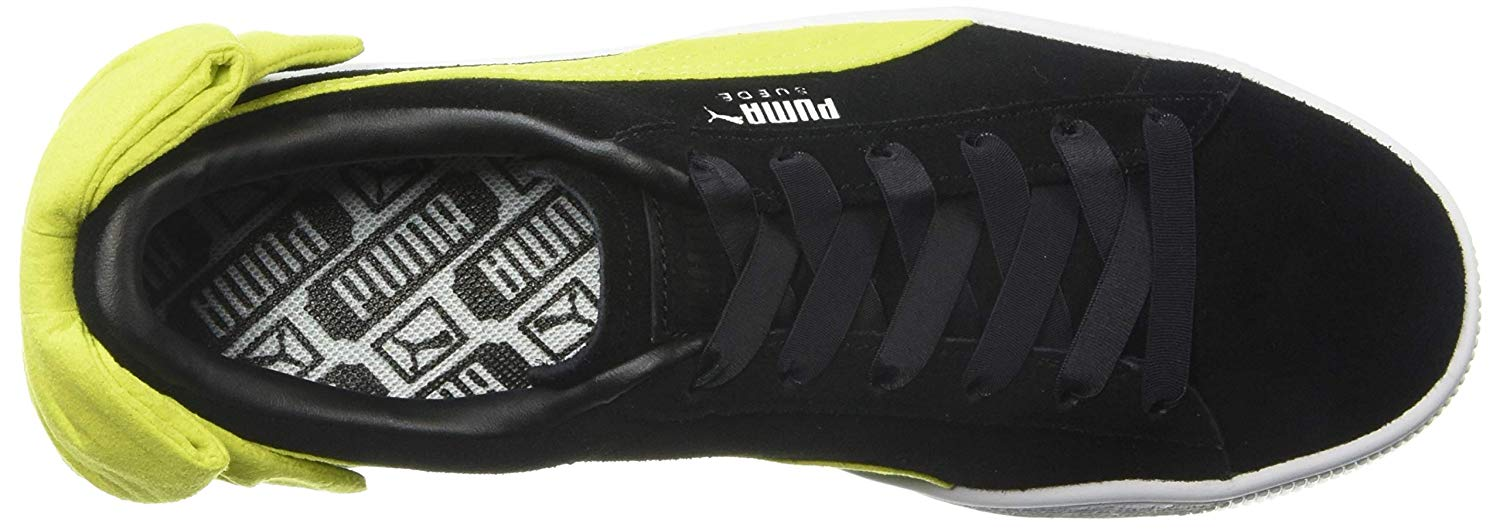 Puma Womens Bow Uprising Low Top Lace Up Fashion Sneakers e1e868b23