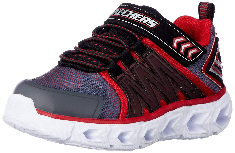 Skechers Hypno Flash 2.0 CharcoalRed Kids