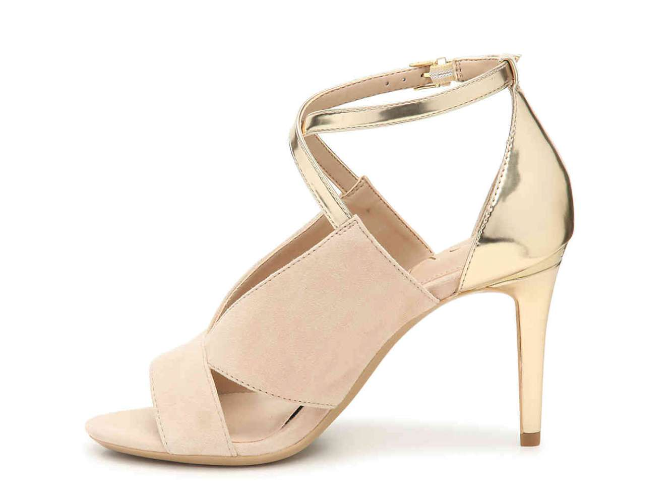 08d27ce89633 Calvin Klein Womens Nevah Leather Open Toe Ankle Strap Classic Pumps ...
