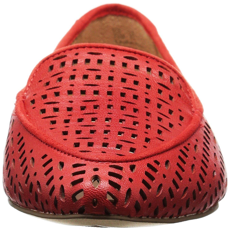 f996ad961fa Franco Sarto Womens Soho Leather Pointed Toe Slide Flats